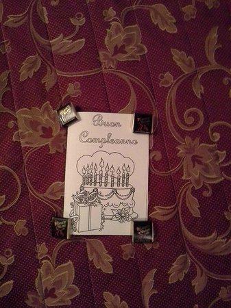 Hotel Tiziano: Biglietto d'auguri