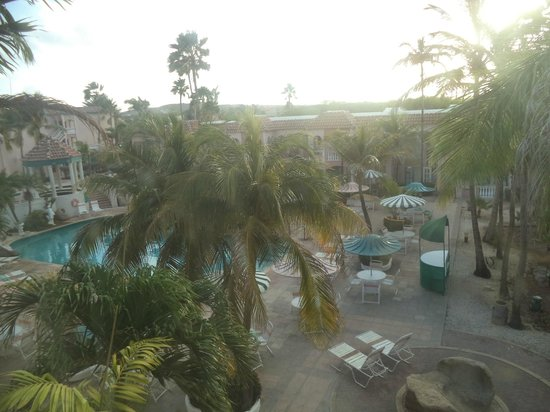 Caribbean Palm Village Resort : view from balcony