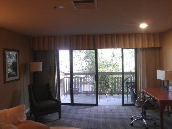Creekside Inn: Nice balcony