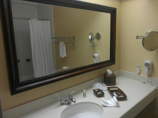 Creekside Inn - A Greystone Hotel: Bathroom is brand new and very clean