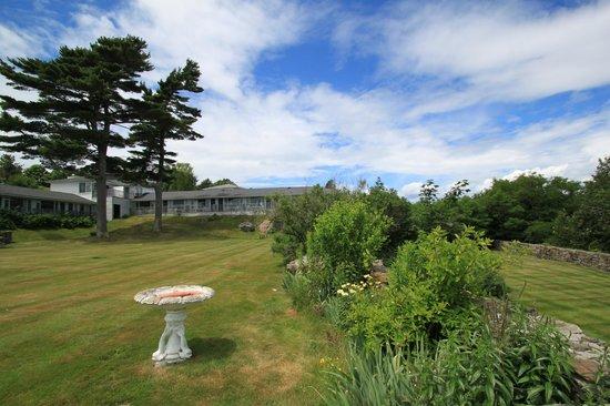 Wonder View Inn: Courtyard