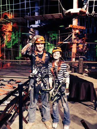 Louisville Mega Cavern : The teens had a blast