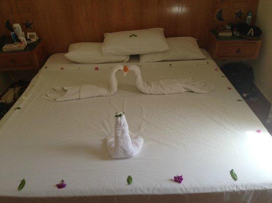 Gardenia Plaza Resort: Towel Art