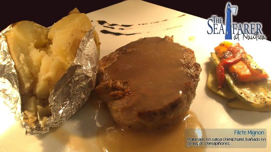 The Seafarer Restaurant: Rib Eye