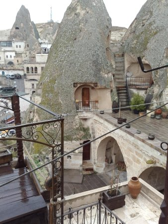 Kelebek Special Cave Hotel : Rooms from the restaurant