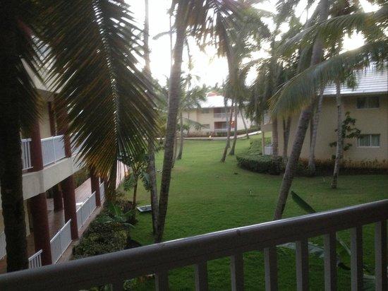 Sirenis Punta Cana Resort Casino & Aquagames: vue du balcon de la chambre