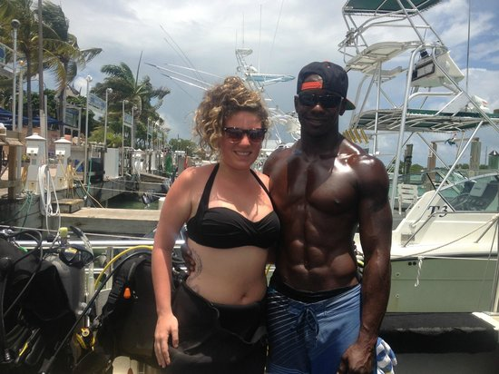 Hawks Cay Resort: My daughter and dive instructor