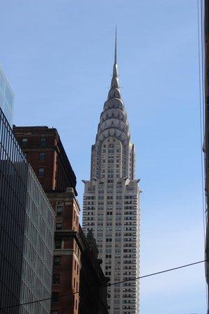 Chrysler Building: o topo do prédio
