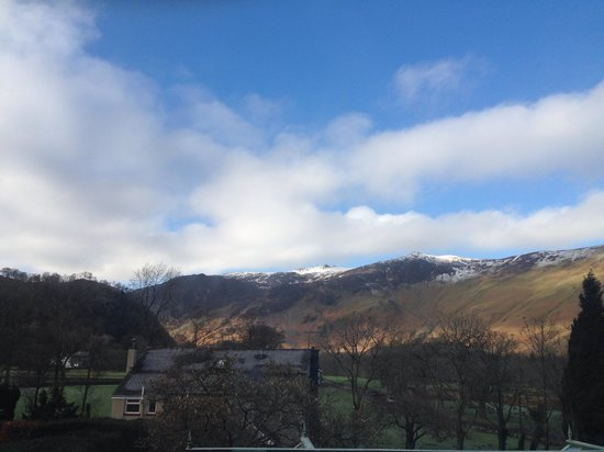 The Borrowdale Hotel: Our Morning View