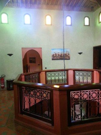 Las Palmeras : The top floor balcony bit