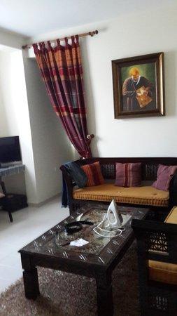 Casablanca Appart'hotel: In Room