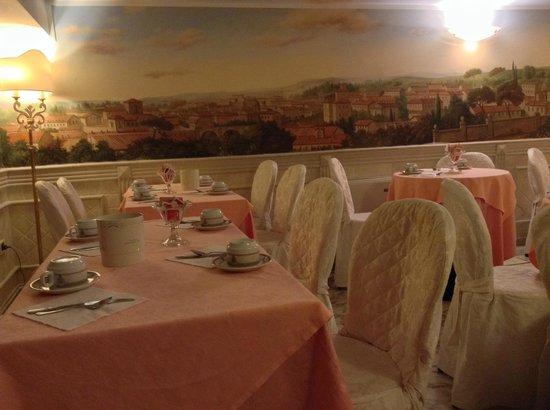 Hotel Pantheon: Место для завтрака