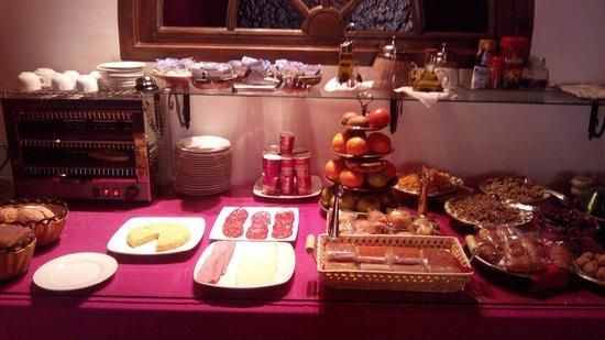 Casa de Federico: Desayuno buffet