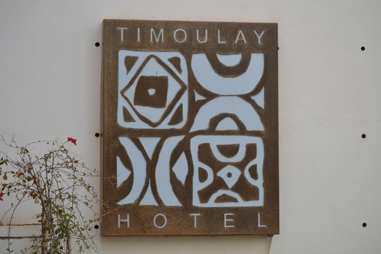 Hotel Timoulay & Spa Agadir: The entrance to the hotel