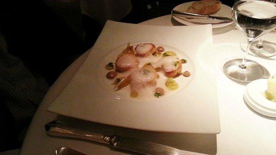 Restaurant Gordon Ramsay : Pan-fried sea scallops