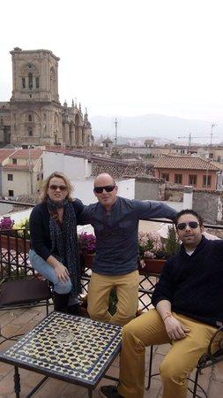 Casa de Federico: Terraza vistas a la catedral y Alhambra