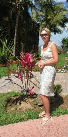El Cid Marina Beach Hotel: In the courtyard