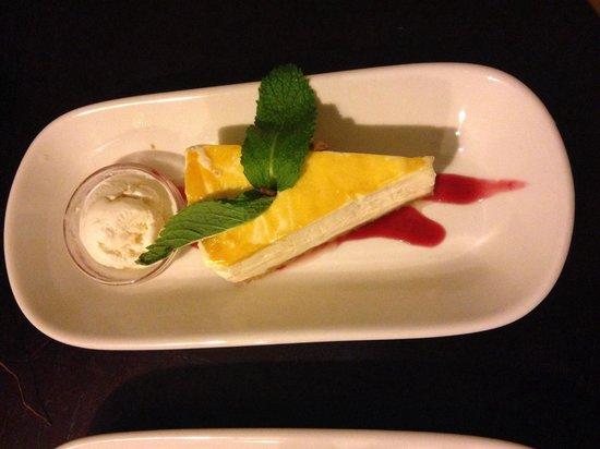 Ginger - Carib Asian Cuisine-: Cheesecake