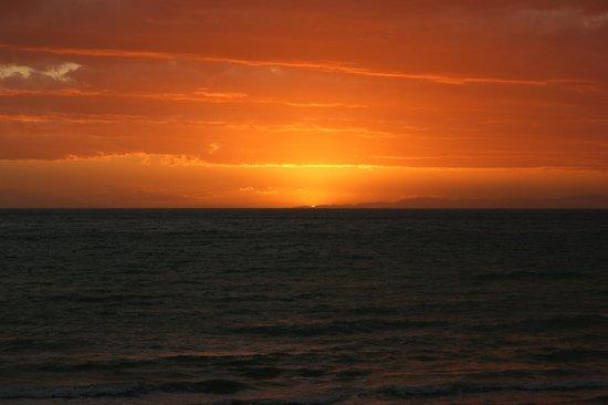 Seashore Bed & Breakfast: Sonnenuntergang