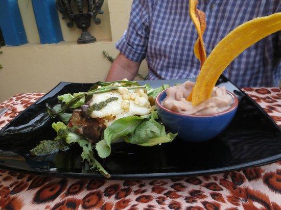 Ivan Chef Justo: Fish with orange sauce and malanga