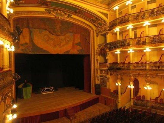 Teatro Amazonas: Vista do Palco
