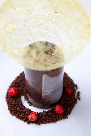 Rodean Restaurant: Chocolate filled cup