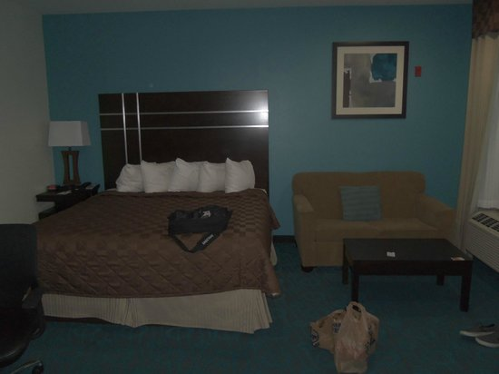 Days Inn Humble/Houston Intercontinental Airport : Bed area