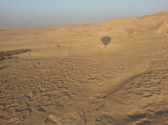 Dream Balloons: Onze eigen ballon als schaduw