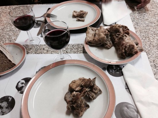 Quim dos Ossos : Real portugese cooked spareribs, excellent taste