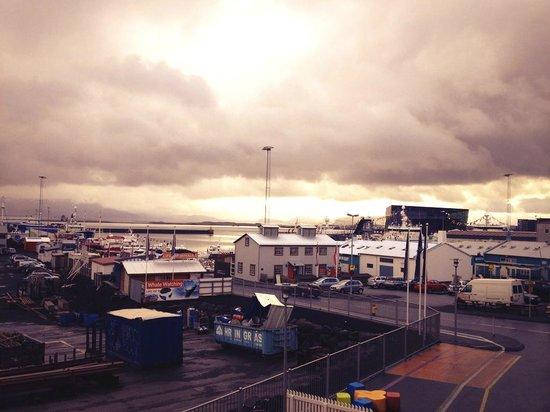 Icelandair Hotel Reykjavik Marina: Утро в Рейкьявике