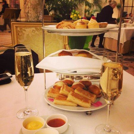 Palm Court: Afternoon tea