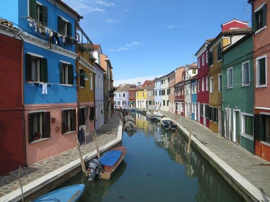 Hotel Al Duca di Venezia: a view of Burano