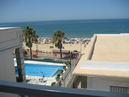 Hotel Apartamentos Marina Luz: Desde el restaurante de la azotea.