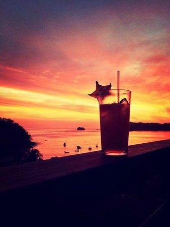 Hotel Guanamar: Drinks on the terrace