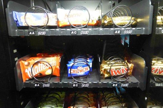 Refugio de Altavista: Altavista - vending machine