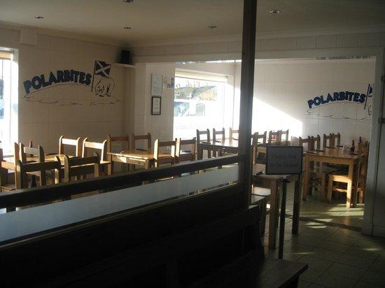 Polarbites: Seating area