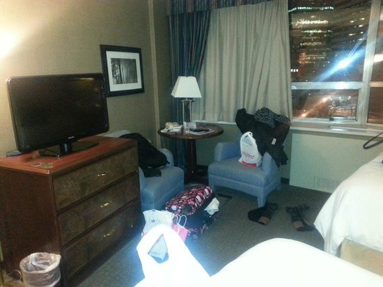 Chateau Lacombe Hotel: excuse the mess lol