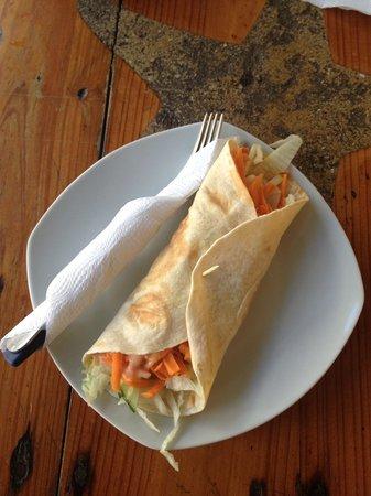 Big Mama's Cafe: Veggi burrito