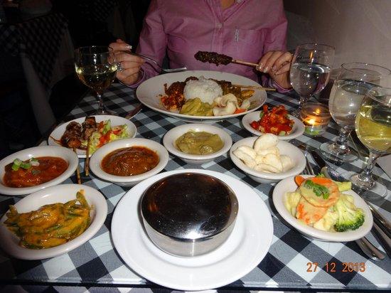 Bali Nusa Indah Restaurant: set menu