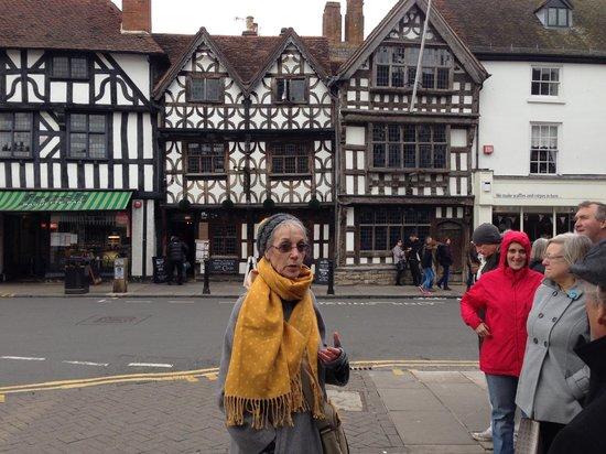 Stratford Town Walk: Our Tour Guide Margot