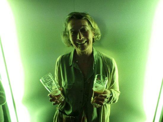 Heineken Experience: Oups.. 2 grands verres à déguster!!!