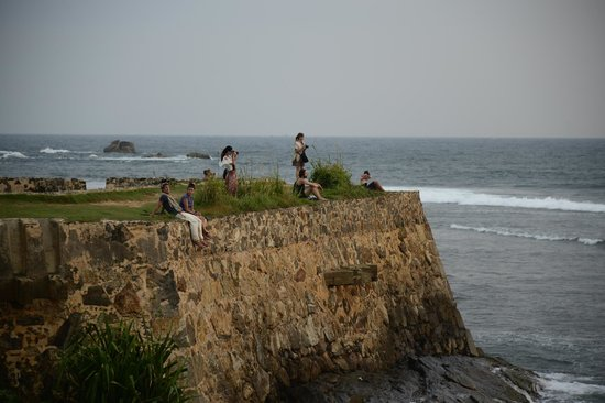Old Town of Galle and its Fortifications: фотографируем закат