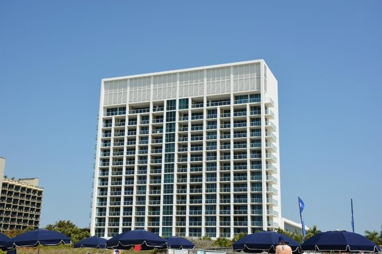 Marriott's Crystal Shores: Building