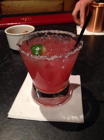 Inn and Spa at Loretto: Serrano margarita. Lil spicy but an awesome finish. Not sweet and syrupy. A critics favorite of