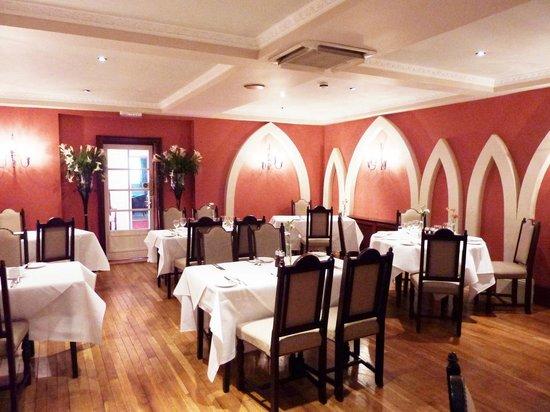 Best Western Abbots Barton Hotel : Breakfast room