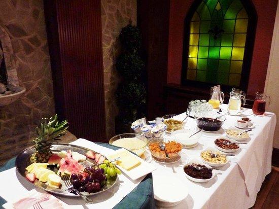Best Western Abbots Barton Hotel : Buffet breakfast