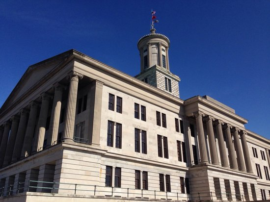 Tennessee State Capitol: Beautiful building!