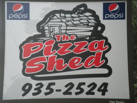 Pizza Shed Sign / Logo