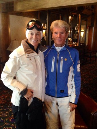 Stein Eriksen Lodge Deer Valley: Mr. Stein Erickson himself. What a lovely and gracious man!! Not to mention skiing legend. Thank