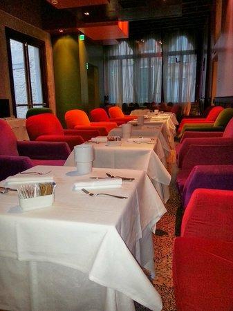 Hotel Ca' Zusto Venezia: Breakfast Area